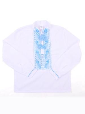 Рубашка-вышиванка белая | 5248368