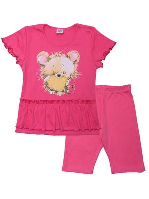 Комплект: футболка и шорты | 5282529