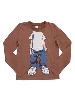 Джемпер коричневый | 5282536