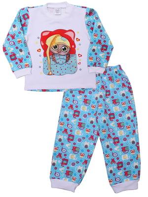 Пижама: джемпер и брюки | 5305608