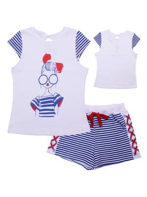 Комплект: футболка и шорты | 5305611