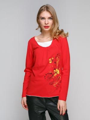Блуза червона | 5291015