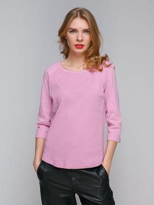 Лонгслив розовый | 5291008