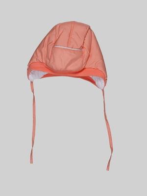 Шапка персикового кольору | 5289896