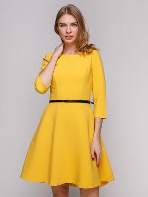 Платье желтое | 5203230