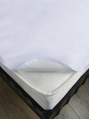 Наматрасник белый (140х190 см) | 4141710