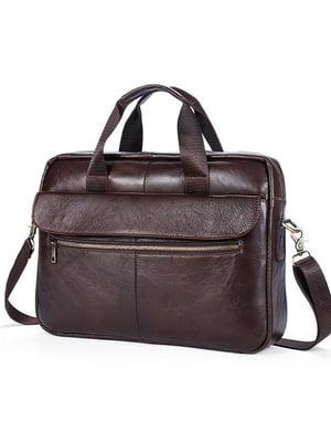 Портфель коричневий | 5305993