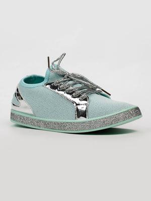 Кросівки м'ятного кольору   5305394
