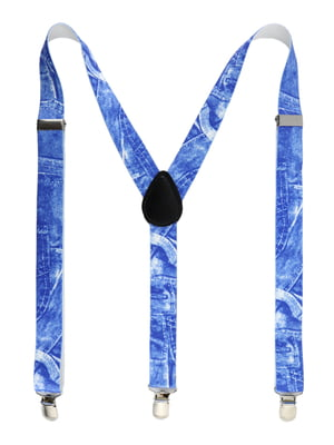 Подтяжки синие   5306393