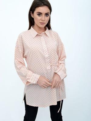 Блуза персикового цвета | 5306141