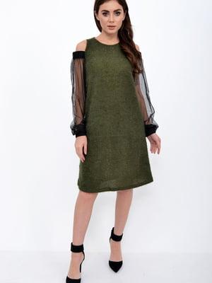 Платье зеленое | 5306305