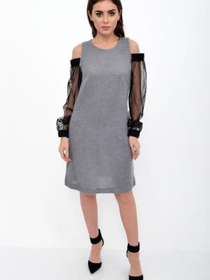 Платье серое | 5306306
