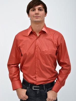Сорочка цегляного кольору | 5306374