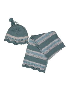 Комплект: шапка и шарф   5304020