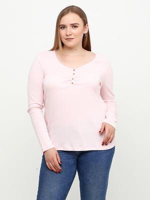 Лонгслив светло-розовый   5308506