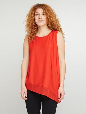 Блуза коралловая | 5308523
