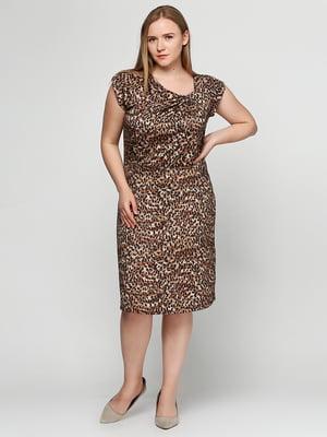 Сукня анімалістичного забарвлення | 5308543