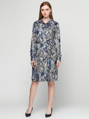 Платье анималистической расцветки | 5308551