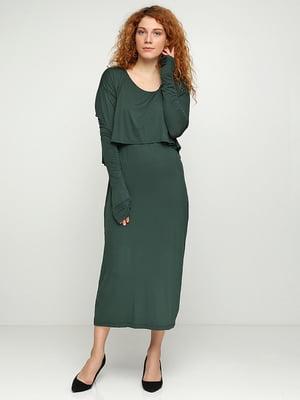 Платье зеленое | 5308563