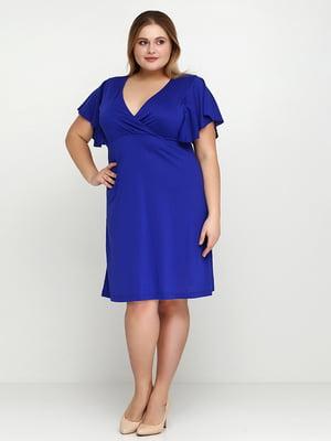 Платье цвета электрик | 5308577