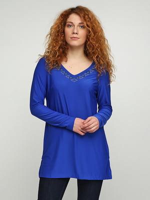 Блуза синяя | 5308591