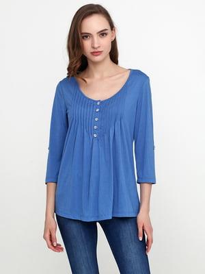Блуза светло-синяя | 5308593