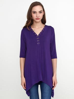 Лонгслив фиолетовый | 5308596
