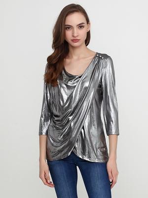 Блуза серебристая | 5308607