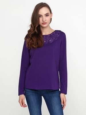 Лонгслив фиолетовый | 5308612