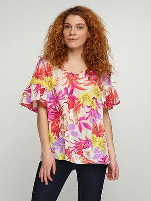 Блуза в принт | 5308623