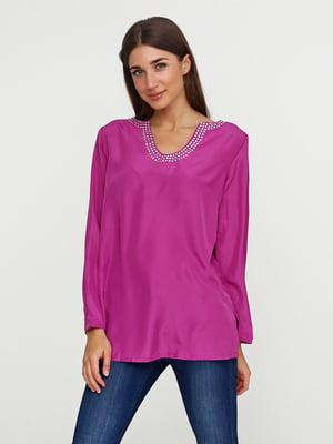 Блуза малиновая | 5308625