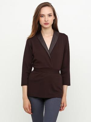 Блуза коричневая | 5308651