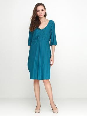 Платье цвета морской волны | 5308672