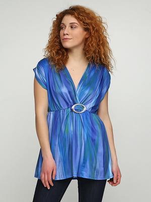 Блуза синяя | 5308687