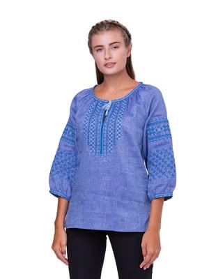 Блуза блакитна | 5308745