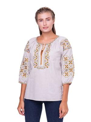 Блуза сіра | 5308746