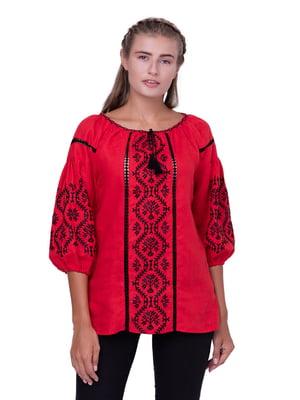 Блуза червона | 5308748