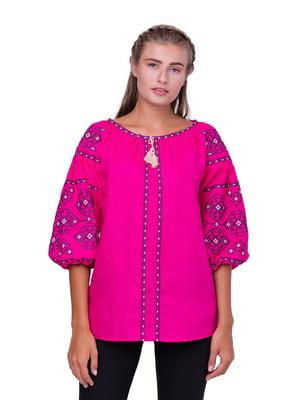 Блуза кольору фуксії | 5308749