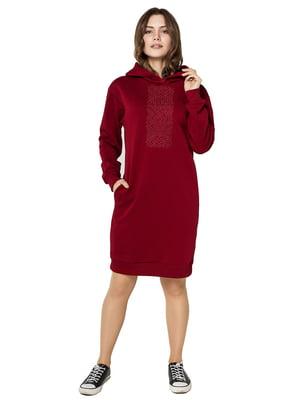 Сукня бордова | 5308758