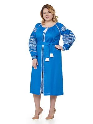 Сукня синя | 5308761