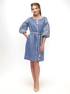 Сукня блакитна | 5062394