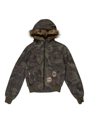 Куртка кольору хакі | 5305853