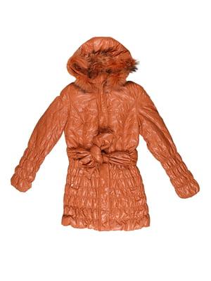 Куртка коричнева | 5305852