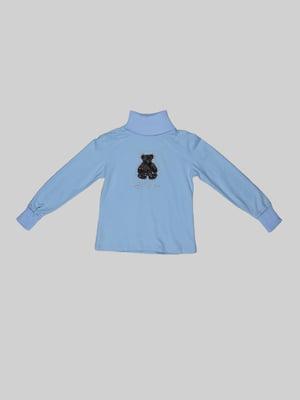 Гольф голубой | 5303696