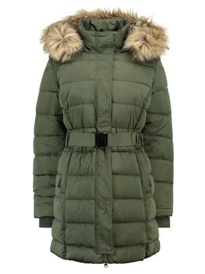 Куртка цвета хаки | 5311050