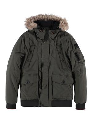 Куртка цвета хаки | 5311058