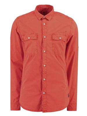 Рубашка оранжевая | 5311089