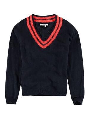 Пуловер темно-синий | 5311112