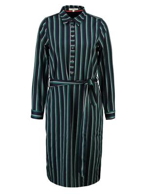 Сукня темно-синя в смужку | 5311127