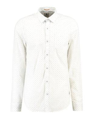 Сорочка біла з принтом   5311141